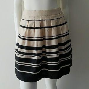 Striped High Waisted Skirt